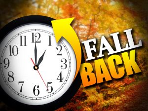 Daylight Savings Ends, Set Your Clock Back an Hour !